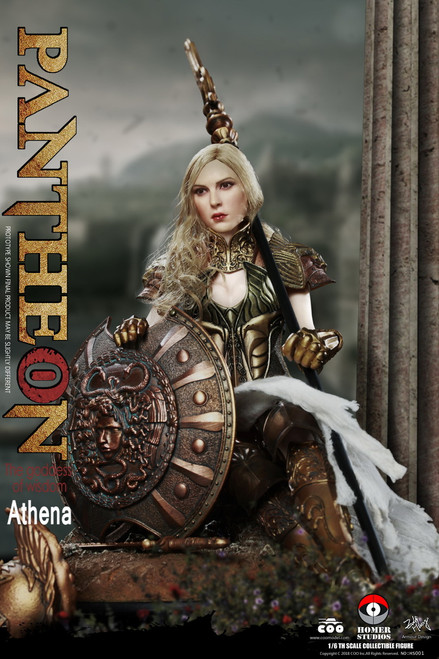 [CM-HS001] Pantheon Goddess of Wisdom Athena 1:6 Figure by COO Model