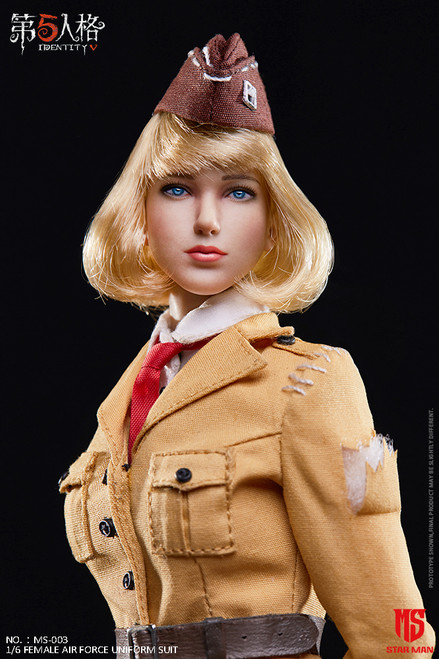 [MS-003] 1/6 Fifth Personality Female Air Force Uniform Suit by Star Man