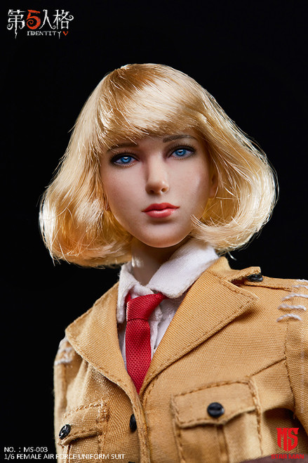 [MS-004] 1/6 Fifth Personality Female Air Force Head by Star Man