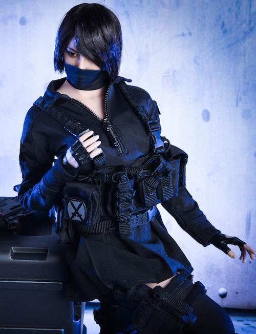 [VST-18XG27] 1/6 Female Assassin Figure Accessory by VS Toys