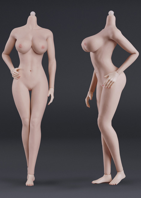 [JOQ-10E-PM] Seamless Female Action Figure in Pink Skin Big Bust by Jiaou Doll