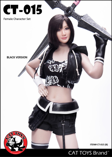 [CAT-015B] 1/6 Fantasy Female Character Set in Black by Cat Toys