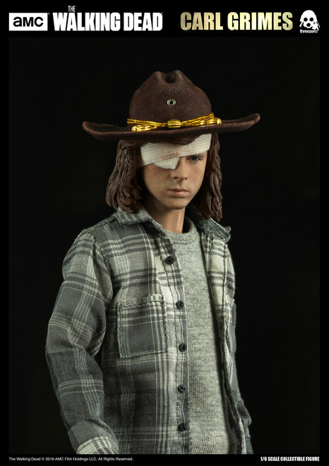 [3A-3Z0062DV] Carl Grimes Deluxe Version in Walking Dead 1/6 Collectible Figure by threezero