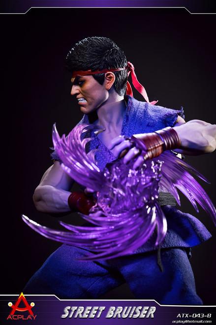 [AP-ATX043B] 1/6 Blue Street Bruiser Martial Artist with Head by ACPLAY