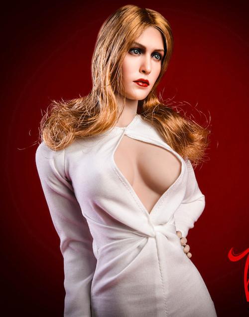 [VST-18XG31B] 1/6 Elizabeth KeyHole White Gown by VS Toys