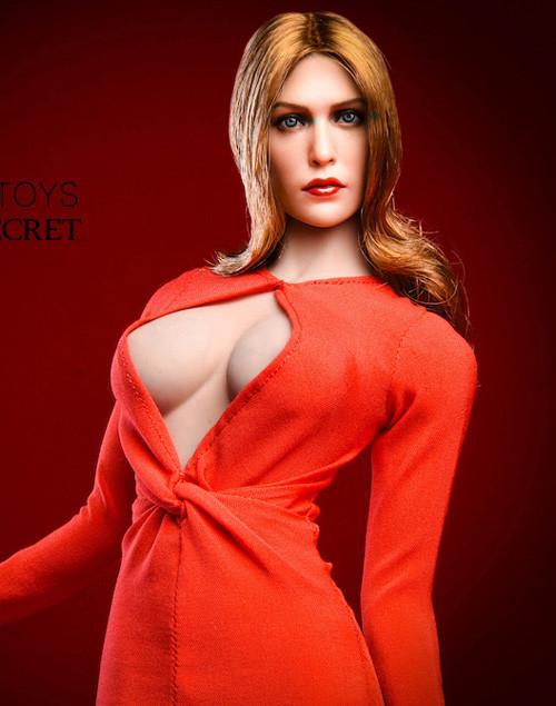 [VST-18XG31C] 1/6 Elizabeth KeyHole Red Gown by VS Toys