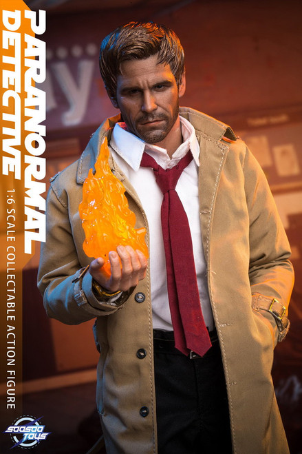 [SST-007] Paranormal Detective 1/6 Collectible Figure by SooSooToys