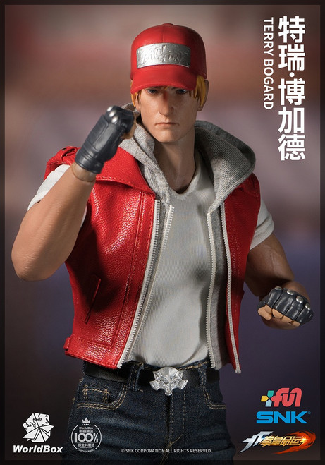 [WB-KF009] SNK The King of Fighters Terry Bogard 1/6 Figure by World Box