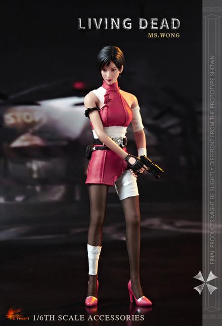 [HH-FD006B] Ms.Wong Battle Version 1/6 Figure Accessories by Hot Heart