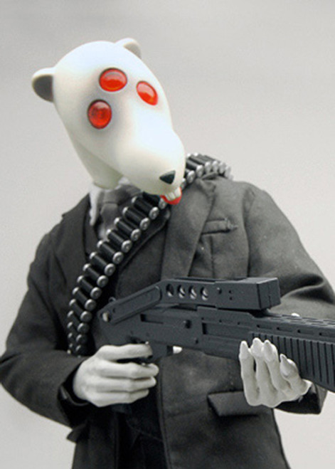 [3A-PR-R] THREEA Playge Rat White
