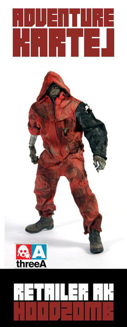 THREEA Adventure KARTEL-HoodZomb Red (3A-KARTEL-HZR)