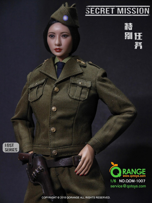 [QOM-1007] Nationalist Party of China The Secret Mission Female Figure Set by QO Toys