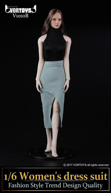 [VOR-1010B] VORTOYS 1/6 Women's Dress Turtleneck Bodysuit