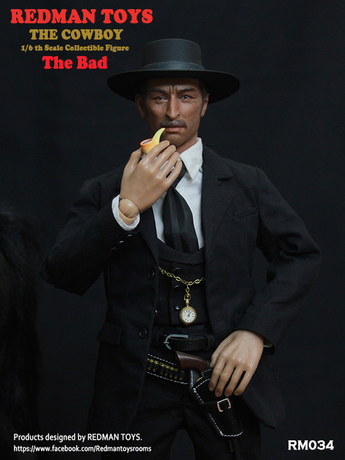 [RMT-034] Cowboy The Bad 1:6 Collectible Figure by Redman