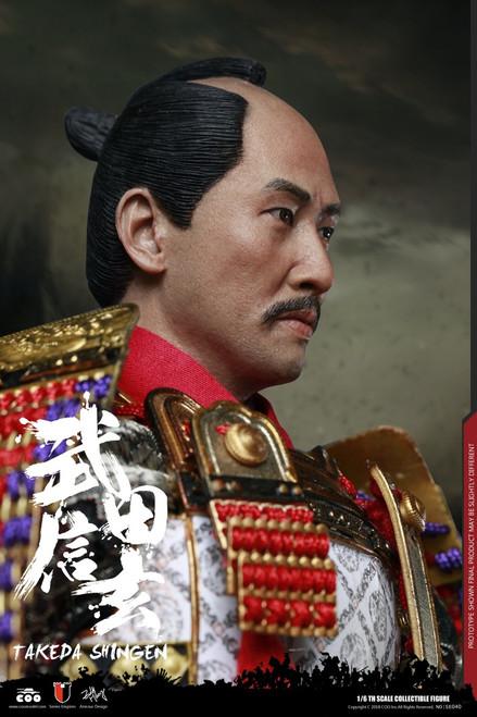 [CM-SE040] Takeda Shingen A.K.A. Tiger of Kai Exclusive Version 1:6 Figure by COO Model