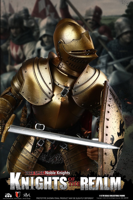 [CM-SE034] 2018 SHCC Knights Of The Realm Noble Knight 1:6 Figure by COO Model