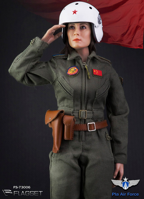 [FS-73006] 1/6 Chinese PLA Air Force Female Aviator Figure by FLAGSET