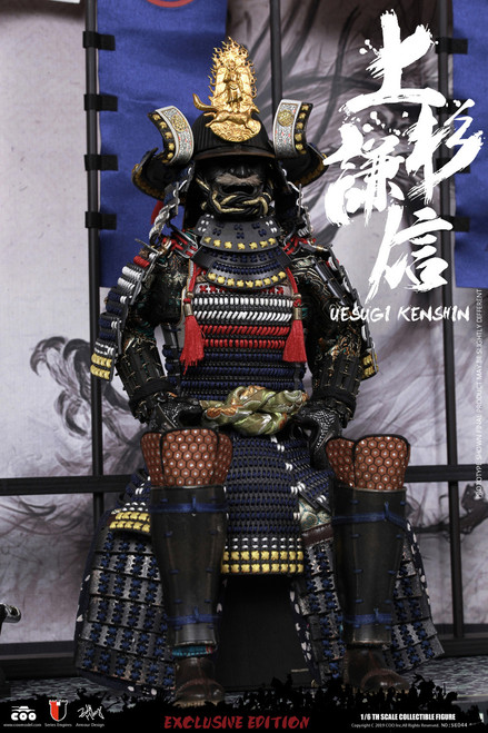 [CM-SE044] 1:6 Uesugi Kenshin, The Dragon of Echigo Exclusive Version Figure by COO Model