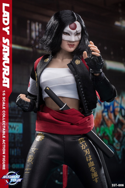 [SST-006] 1/6 Scale Lady Samurai Collectible Figure by SooSooToys
