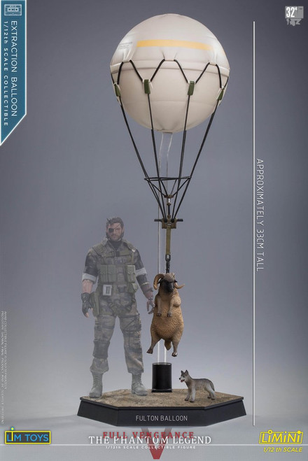 [LIM-LMN01EB] 1:12 Extraction Balloon with Sheep and Dog by Lim Toys