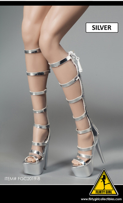 [FGC-2019-8] 1/6 Sliver Strap Female Fashion Boots by Flirty Girl's