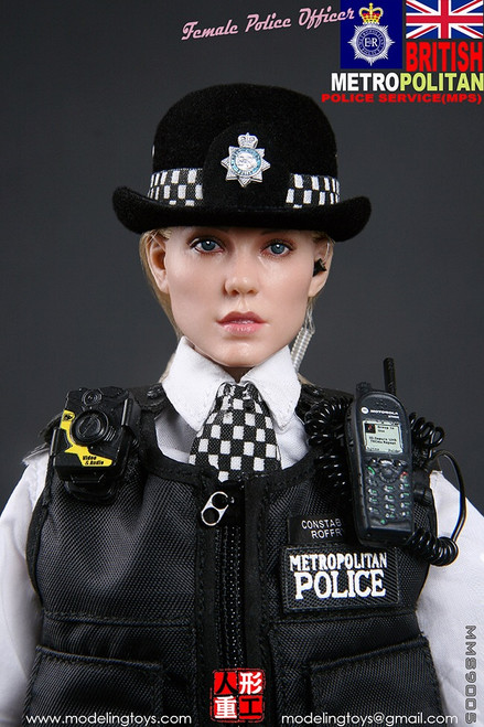 [MMS-9005] British Metropolitan Police Service Female Police Officer by Modeling Toys