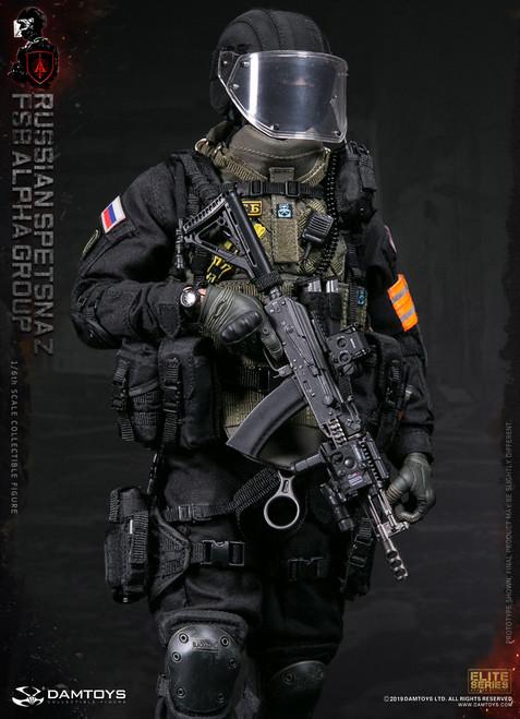 [DAM-78064] 1/6 Russian Spetsnaz FSB Alpha Group Action Figure by DAM Toys