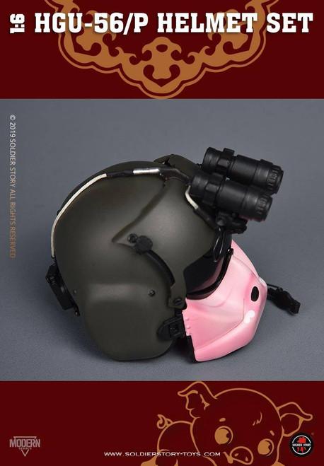 [SS-HGU-56A] 1/6 HGU-56 P Helmet Set Pig by Soldier Story