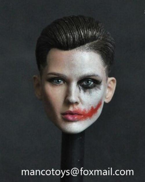 [MCT-001B] 1/6 Ruby Head Joker Face by Manco Toys