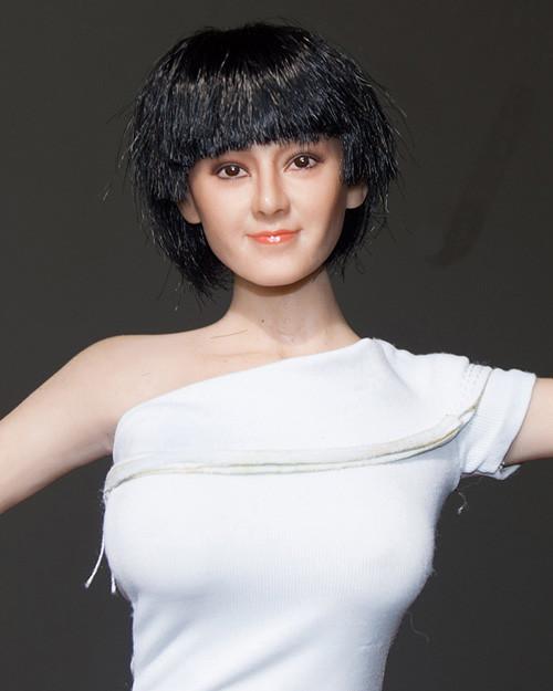 [MIS-H051D] 1/6 Custom Dilraba Actress Short Hair Head