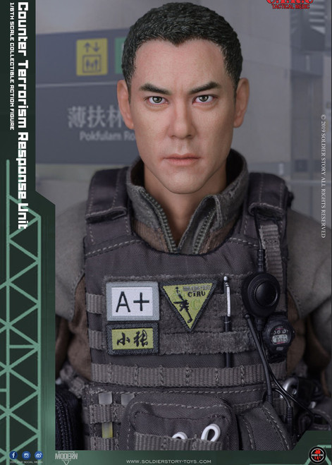 [SS-116] 1/6 HK Police CTRU Tactical Medic Figure by Soldier Story