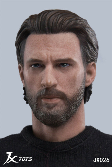 [JXT-026] 1/6 Custom America Male Head by JXtoys