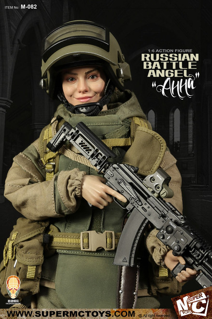 [MC-M082] 1/6 Russian Battle Angel AHHa Boxed Figure by Super MC Toys