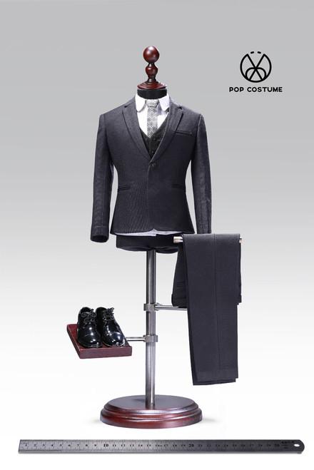 [POP-X27C] 1:6 Western-Style Grey Suit 2.0 by POP Toys