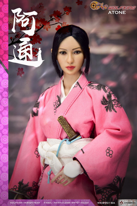 [WK-89018A] 1:6 Atone 阿通 Japanese Female Figure by Wolf King