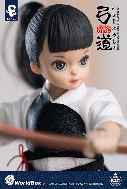 "[WB-LBKG] 6"" Tall Lakor Baby Kyudo Girl by World Box"