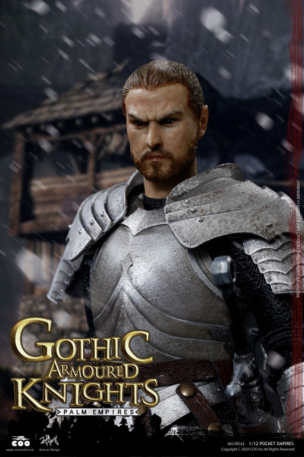 [CM-PE011] 1:12 Pocket Empires Gothic Armored Knight Figure by COO Model
