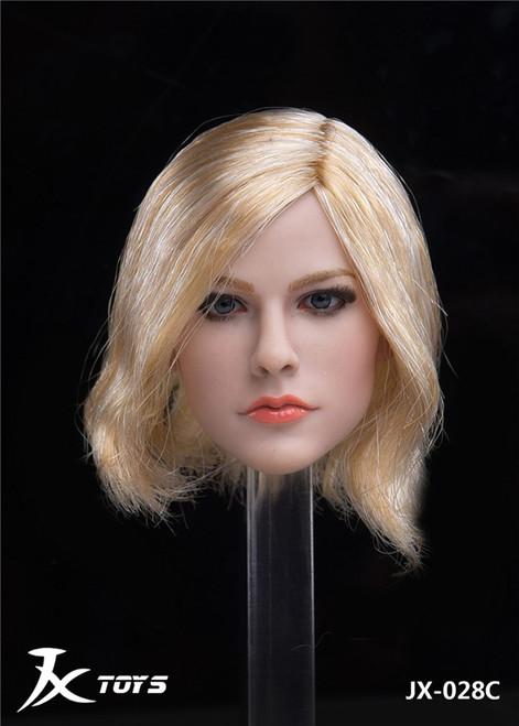 [JXT-028C] 1/6 Custom Female Head with Short Hair by JXtoys