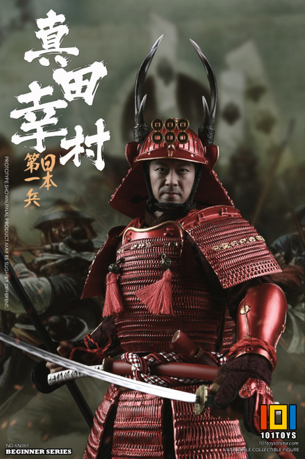 [101-KN002] The no.1 Japanese Soldier Sanada Yukimura Exclusive Version by 101 Toys