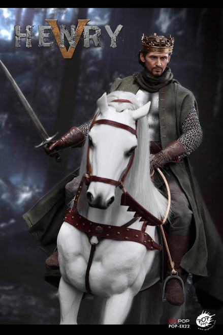 [POP-EX022H] 1/6 King Henry V of England War Horse by POP Toys