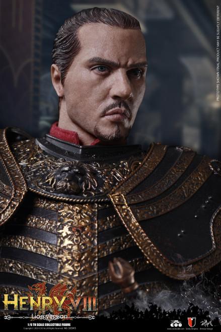 [CM-SE045] 1:6 Die Cast Alloy Henry VIII Lion Version Figure by COO Model