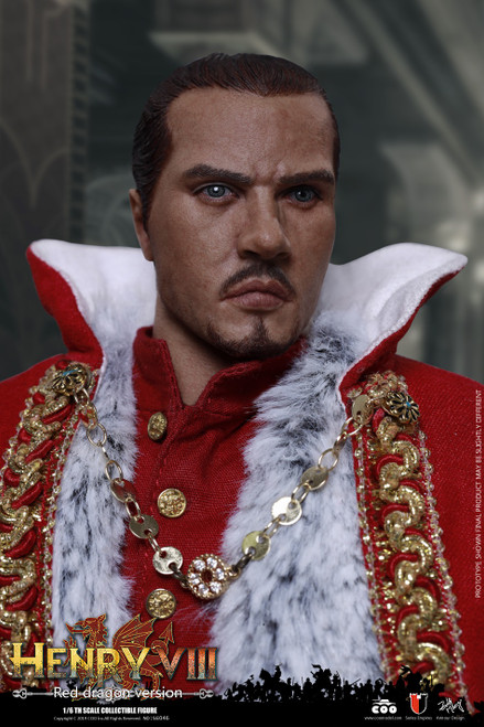 [CM-SE046] 1:6 Die Cast Alloy Henry VIII Red Dragon Version Figure by COO Model