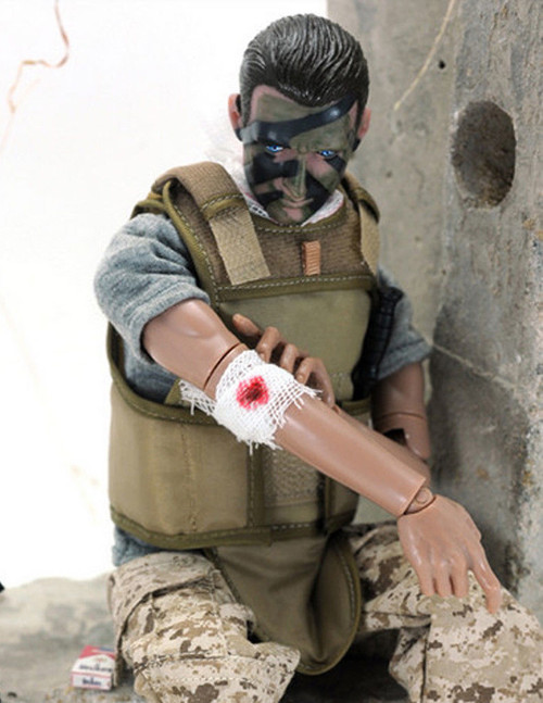 [KH-NB01C] 1/6 Special Forces Figure Wounded Soldier by KAD Hobby