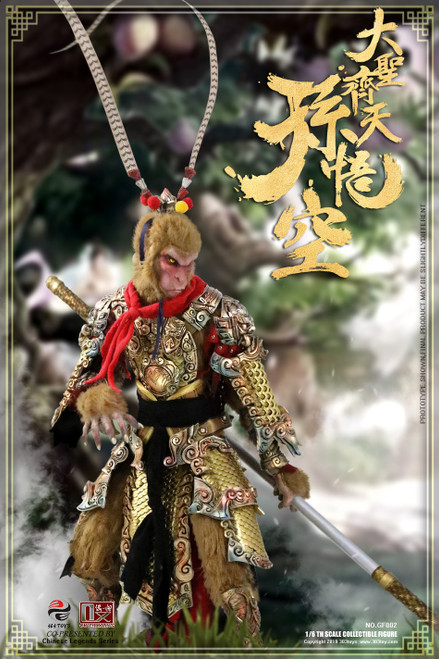 [303T-GF002] Sun Wukong GREAT SAGE EQUALLING HEAVEN 1/6 Figure by 303 Toys