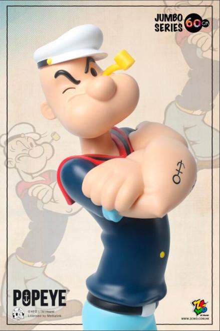 "[ZC-325] 24"" Tall Popeye 90th Anniversary 60cm Retro by ZC World"