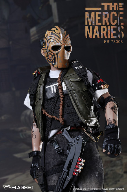 [FS-73008] The Masked Mercenaries 2.0 Boxed Figure by FLAGSET