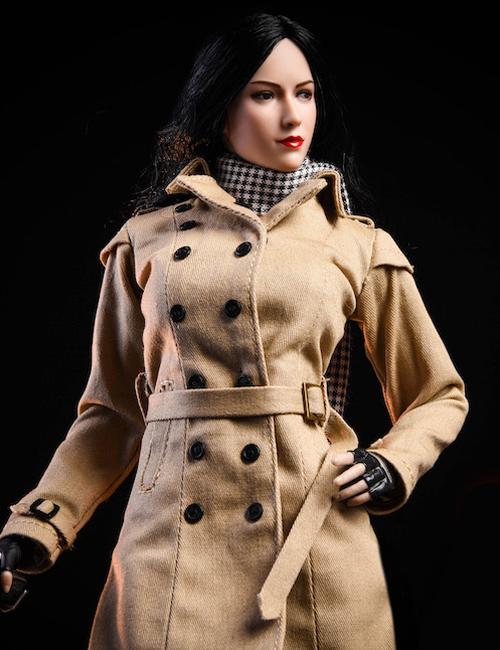 [NR-19] 1/6 Female Windbreaker Clothing Set by NRToys
