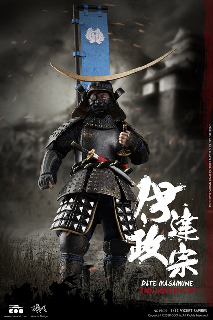[CM-PE007] 1:12 Pocket Empires Date Masamune Exclusive Edition by COO Model