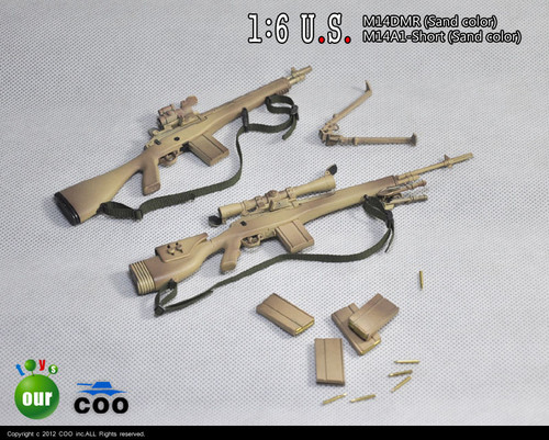 COOMODEL 1:6 U.S. Military M14 Sniper Rifle Series - C (CM-X80018)