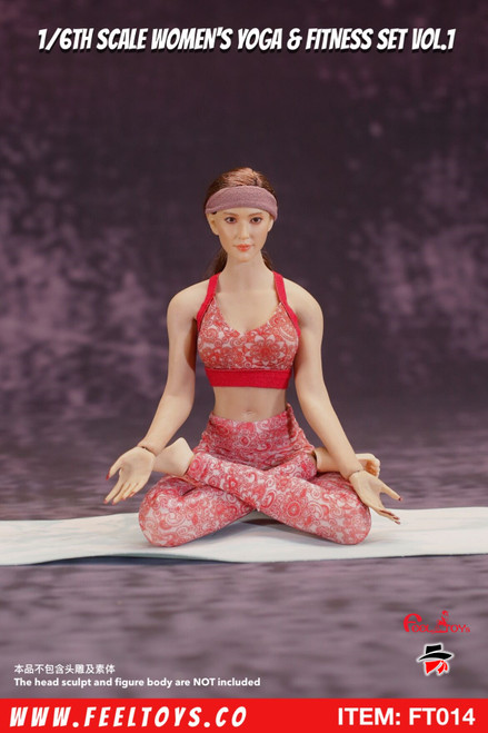 [FT-014] 1/6 Women's Yoga & Fitness Set Vol.1 by Feel Toys